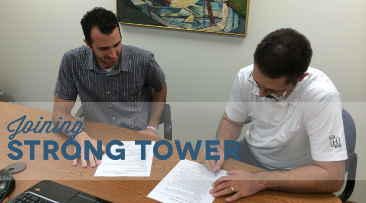 Introducing Strong Tower's Newest Team Member